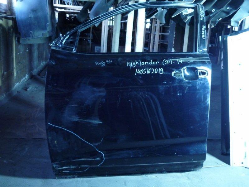 Дверь Toyota Highlander 3 50 2013 передняя левая