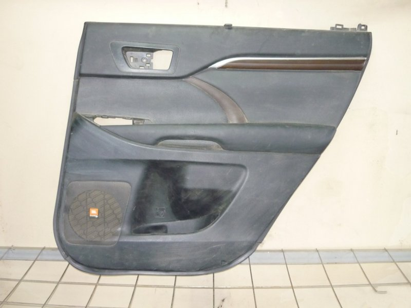 Обшивка двери Toyota Highlander 3 50 2013 задняя правая