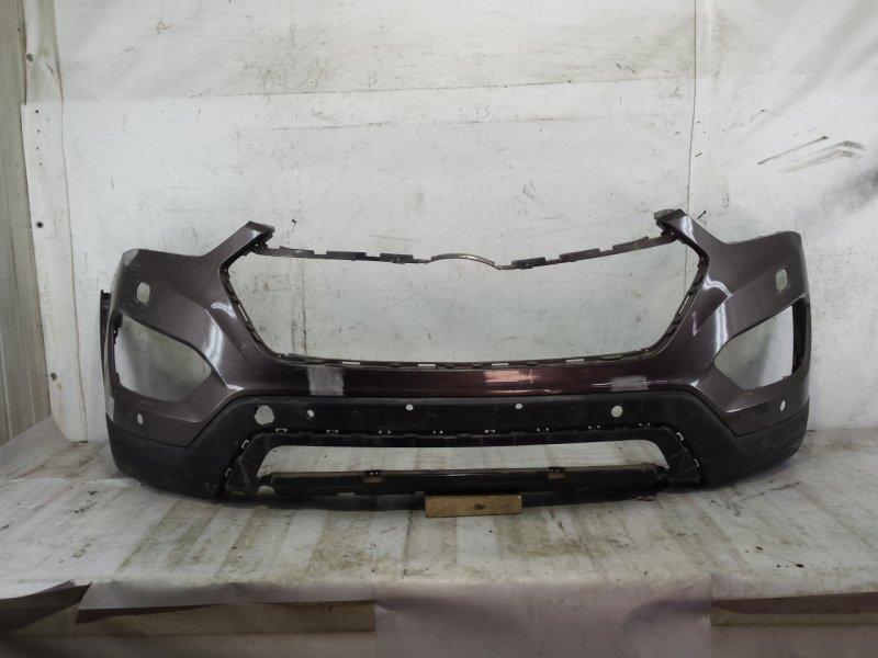 Бампер Hyundai Grand Santa Fe 3 2012 передний