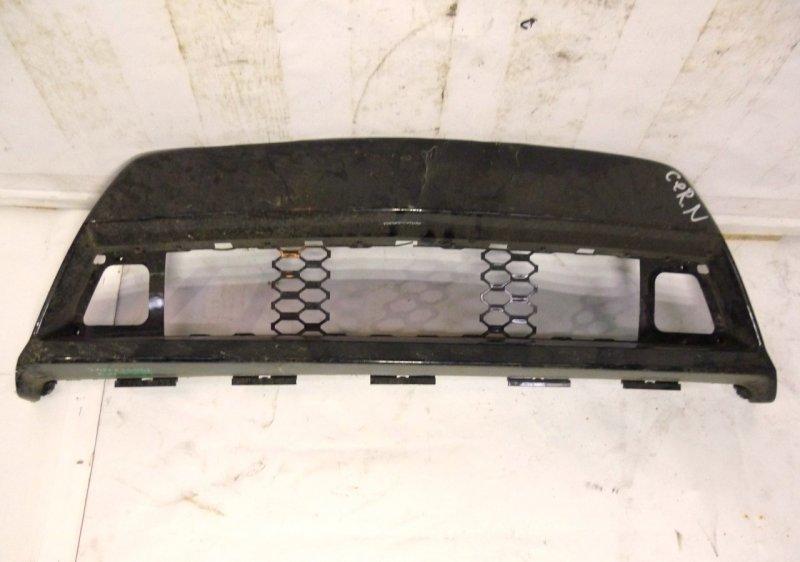 Накладка на бампер Kia Cerato 2 2009 передняя