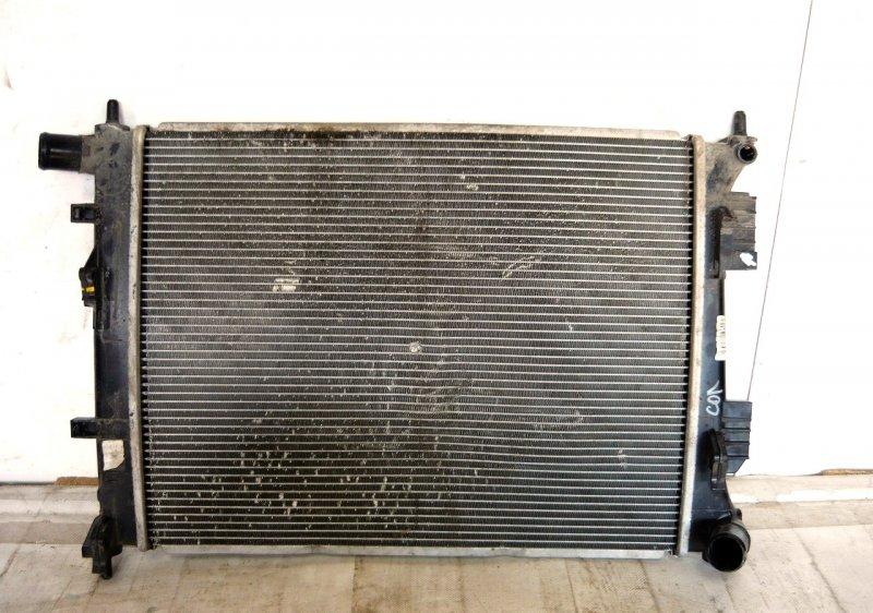 Радиатор охлаждения двс Hyundai Solaris 1 2010