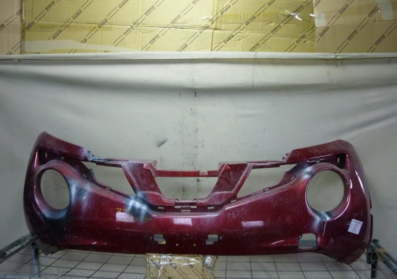 Бампер Nissan Juke 1 F15 2014 передний