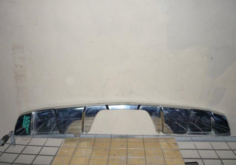 Накладка на бампер Mercedes Gl X166 2012 задняя
