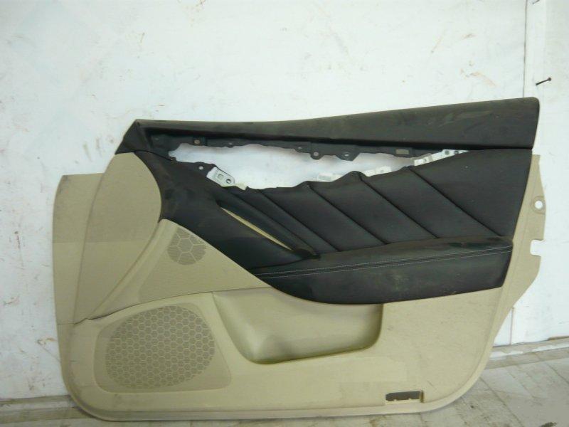 Обшивка двери Infiniti Qx50 1 J50 передняя правая