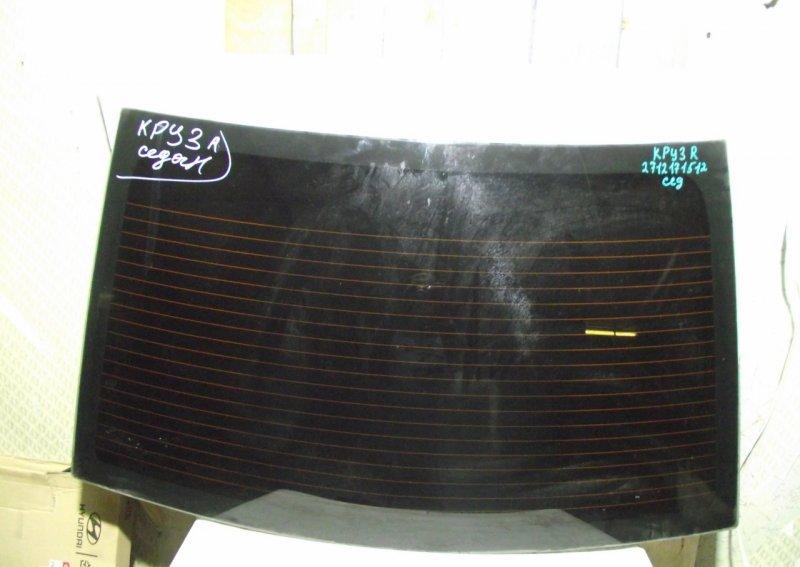 Стекло Chevrolet Cruze 1 2009 заднее