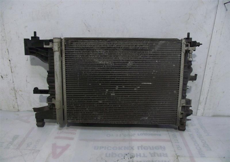 Кассета радиаторов Chevrolet Cruze 1 1.8 2009