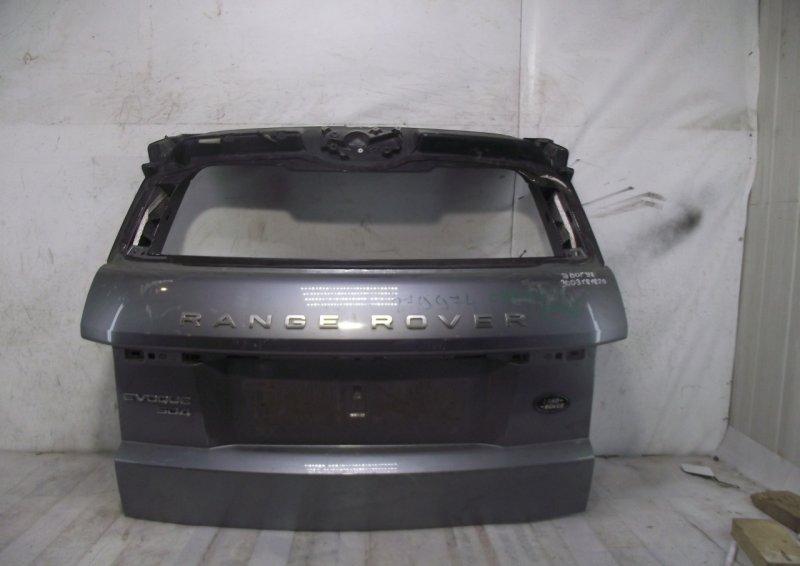 Крышка багажника Land Rover Range Rover Evoque 1 2011 задняя