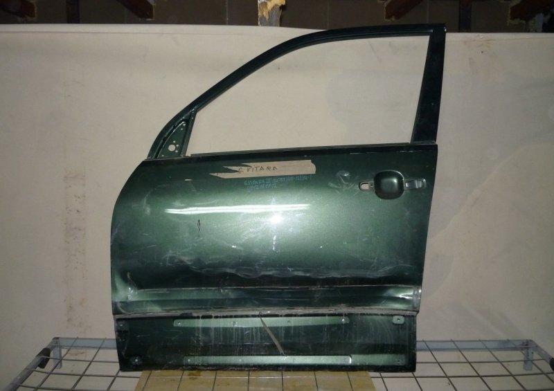 Дверь Suzuki Grand Vitara 3 2005 передняя левая