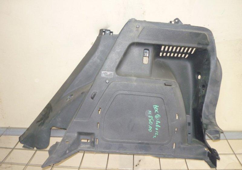 Обшивка багажника Skoda Fabia 2 2007 задняя правая