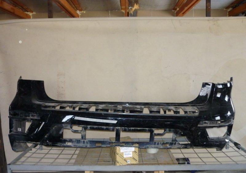 Бампер Mercedes Gl X166 2012 задний
