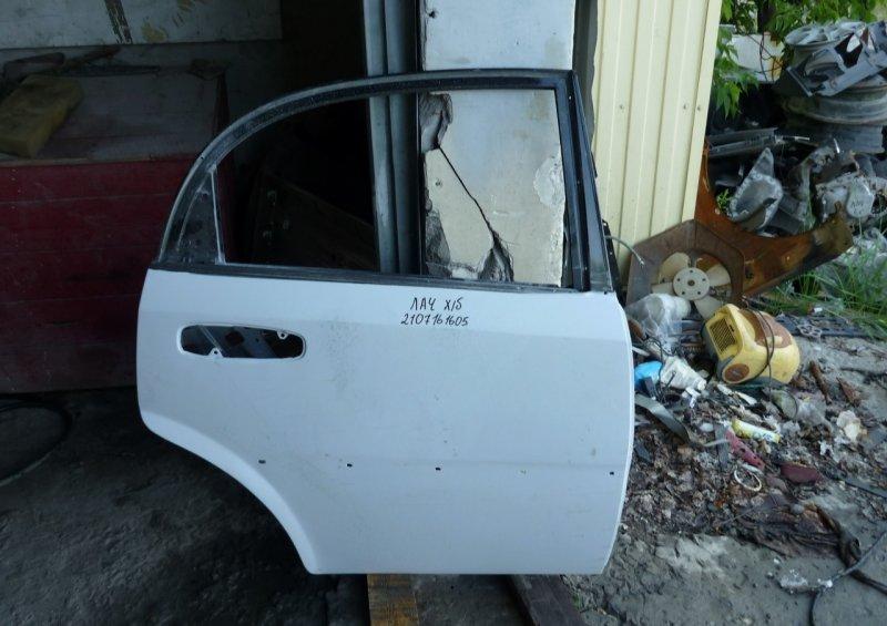 Дверь Chevrolet Lacetti 1 2004 задняя правая