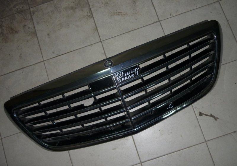 Решетка радиатора Mercedes S W222 2013