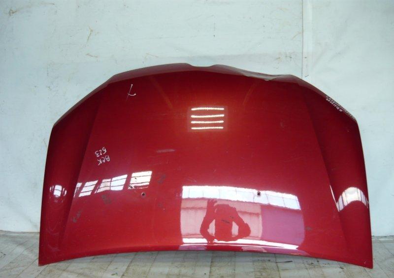 Капот Renault Logan 2 2014 передний