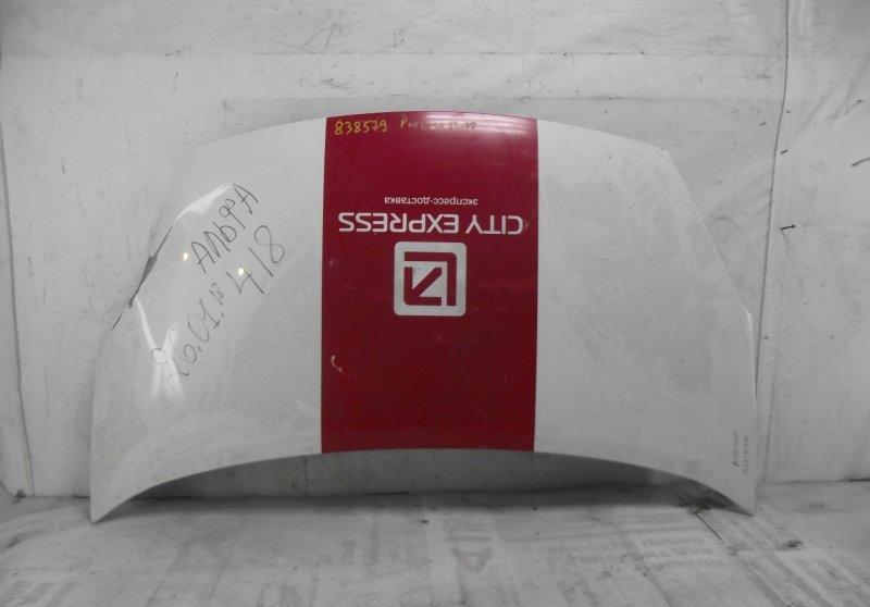 Капот Peugeot Partner 2 2008