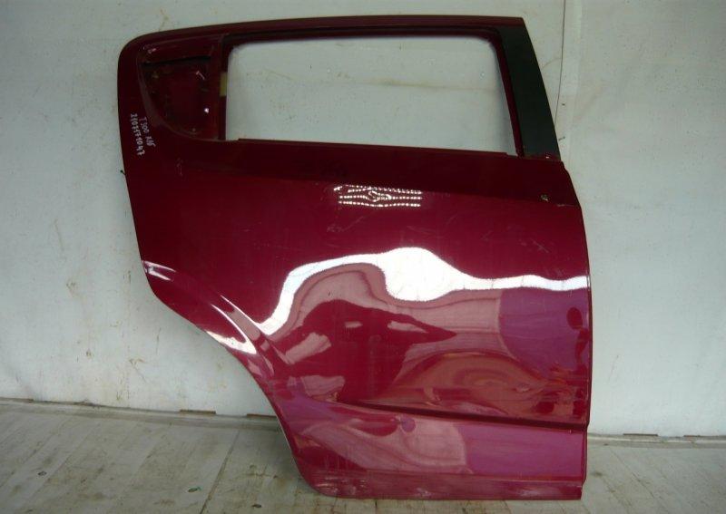 Дверь Chevrolet Aveo 2 T300 2011 задняя правая