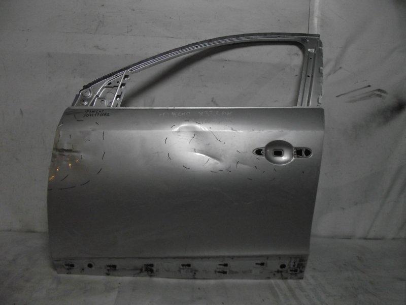 Дверь Renault Fluence 1 2009 передняя левая