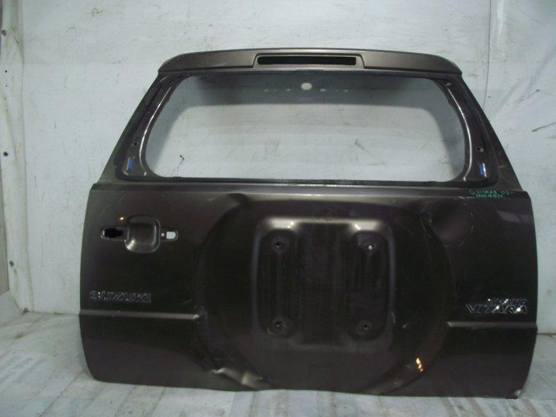 Крышка багажника Suzuki Grand Vitara 3 2005 задняя