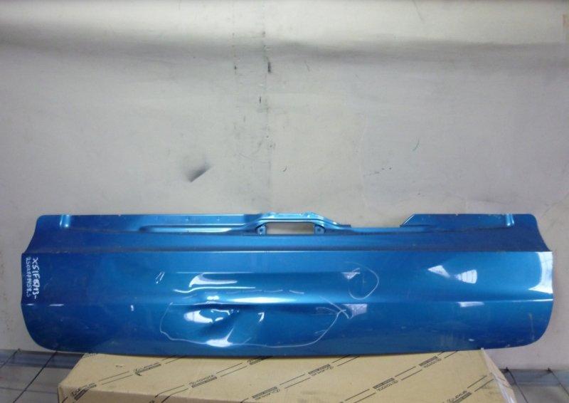 Борт задний Bmw X5 F15 2013 задний нижний