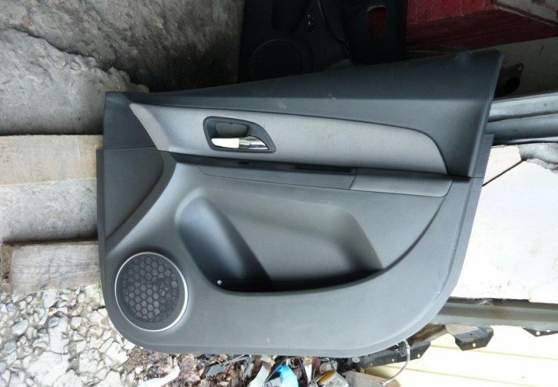 Обшивка двери Chevrolet Cruze 1 2009 передняя правая