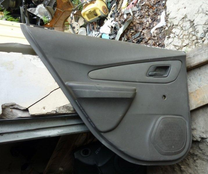 Обшивка двери Chevrolet Cobalt 2 2011 задняя левая