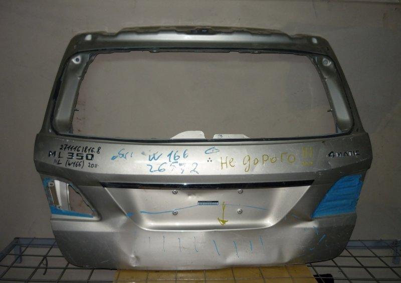 Крышка багажника Mercedes Ml W166 2011 задняя