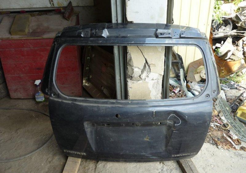 Крышка багажника Chevrolet Captiva 1 2006 задняя