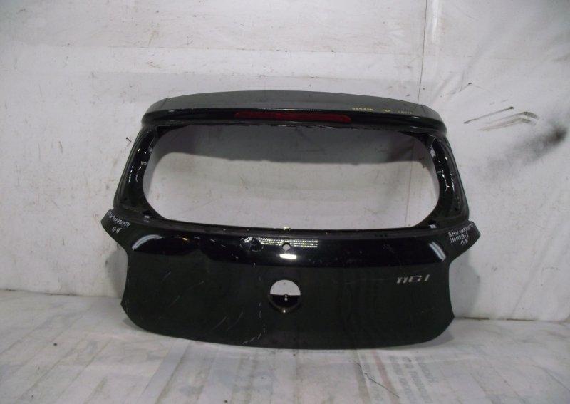 Крышка багажника Bmw 1 F20 2011 задняя