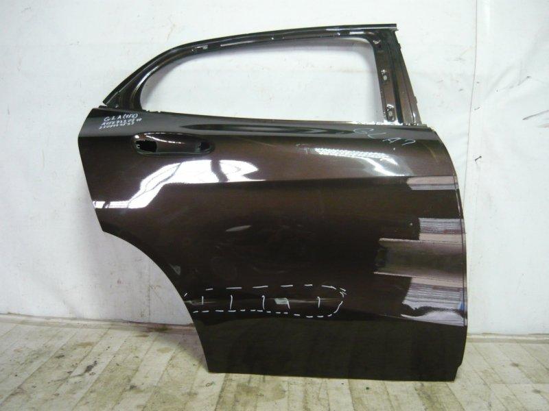 Дверь Mercedes Gla X156 2013 задняя правая