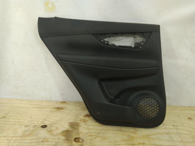 Обшивка двери Nissan X-Trail 3 T32 2013 задняя левая