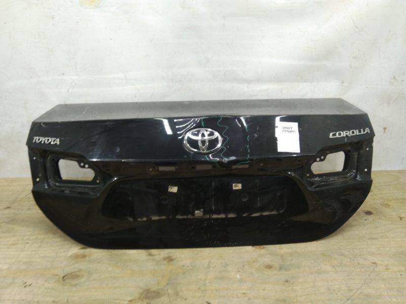 Крышка багажника Toyota Corolla E180 2012