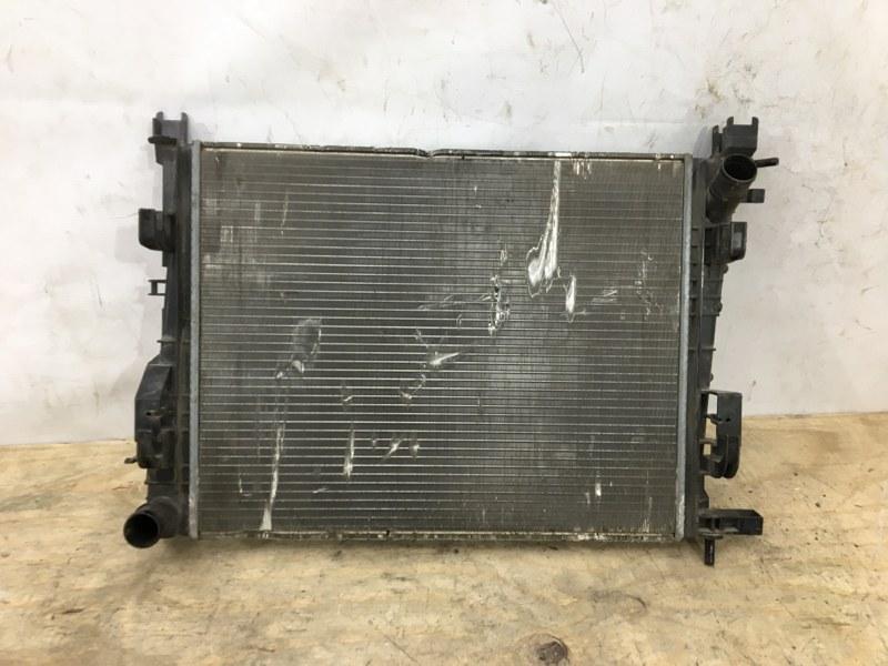 Радиатор охлаждения двс Renault Logan 2 2012