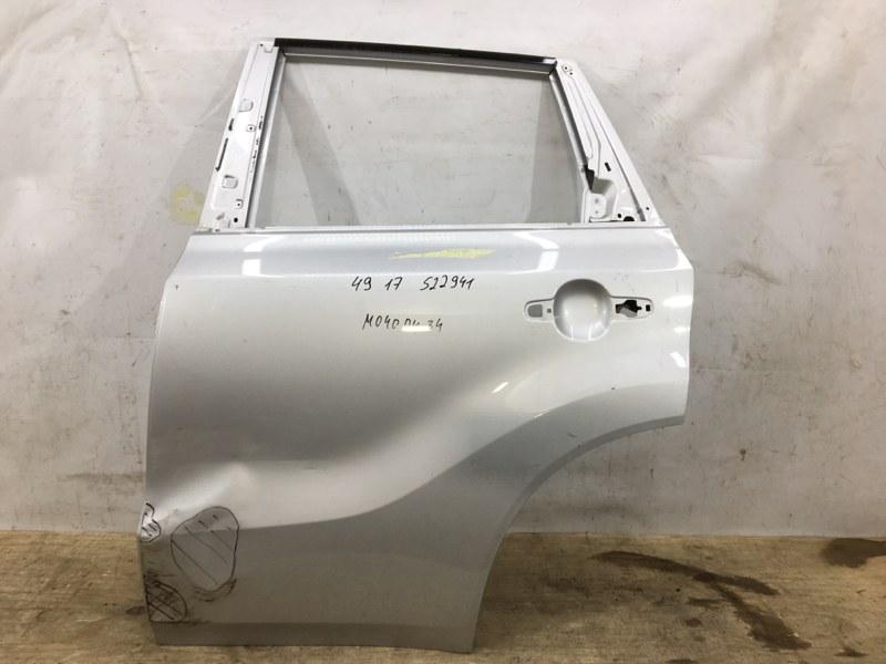 Дверь Suzuki Vitara 2 2014 задняя левая