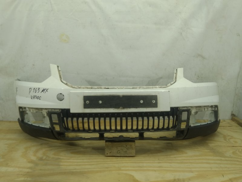 Бампер Skoda Yeti 1 2013 передний