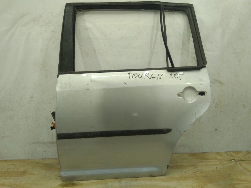 Дверь Volkswagen Touran 1 2003 задняя левая