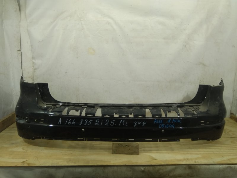 Бампер Mercedes Gl W166 2012 задний верхний