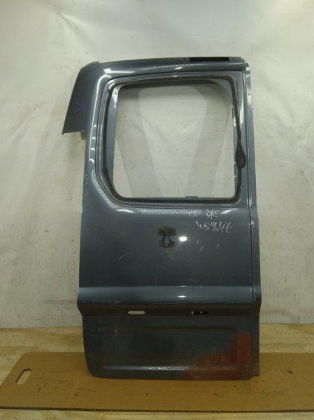 Крышка багажника Fiat Scudo 2 2007 левая