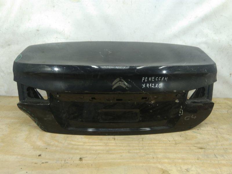 Крышка багажника Citroen C4 `2 2010