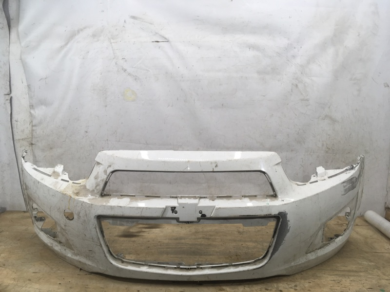 Бампер Chevrolet Aveo 2 T300 2011 передний