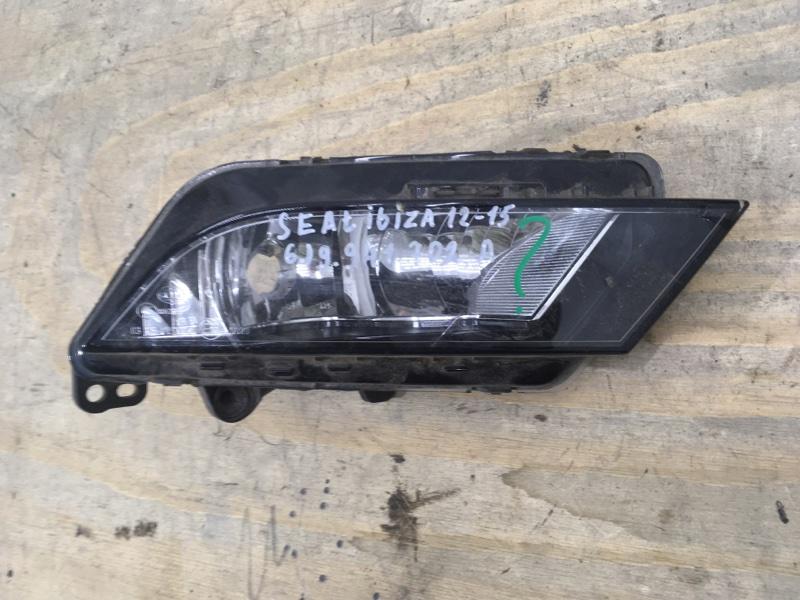 Фара противотуманная Seat Ibiza 4 2012 передняя правая