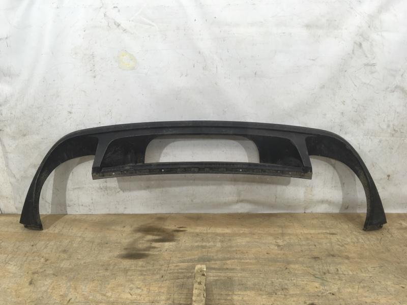 Накладка на бампер Volkswagen Touareg 2 2014 задняя