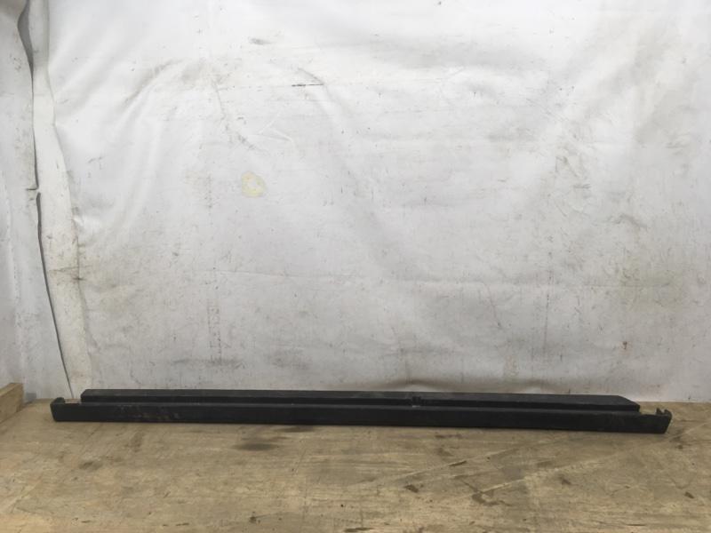 Накладка порога Nissan Almera `3 G15 2012 левая