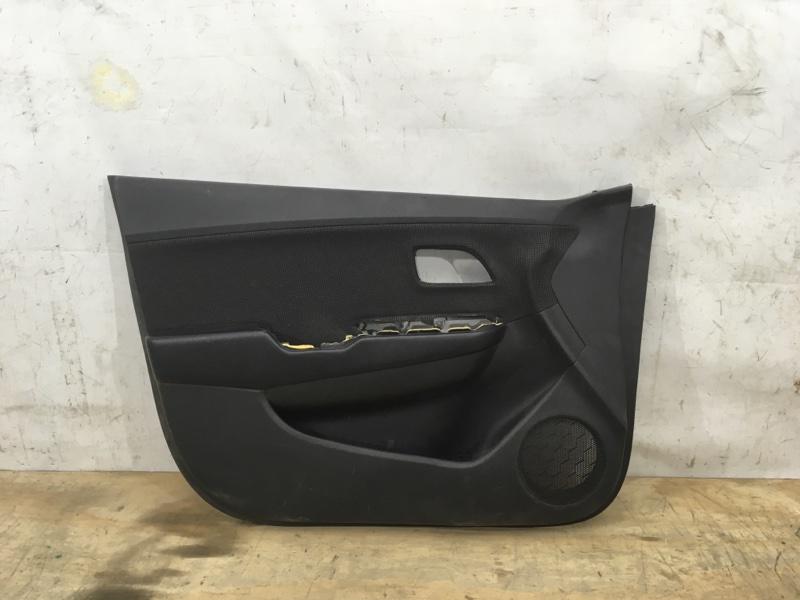 Обшивка двери Kia Rio `3 2011 передняя левая