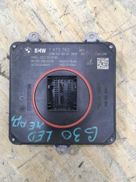 Блок управления фарой Bmw 5 `G30 2016
