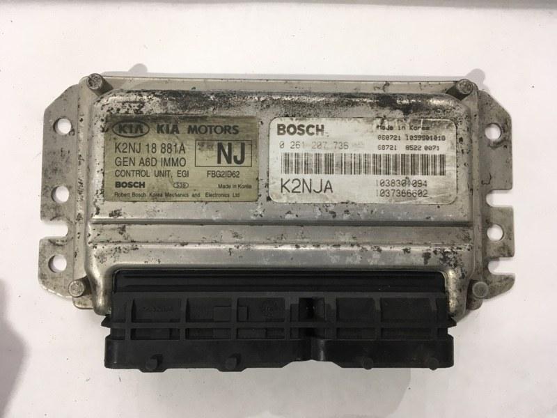 Блок управления двигателем Kia Spectra `1 2001