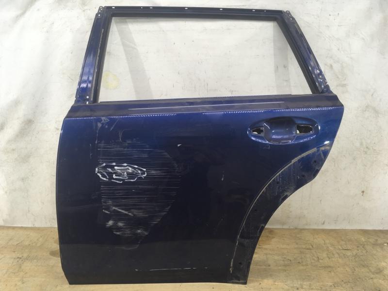 Дверь Subaru Outback 4 2009 задняя левая