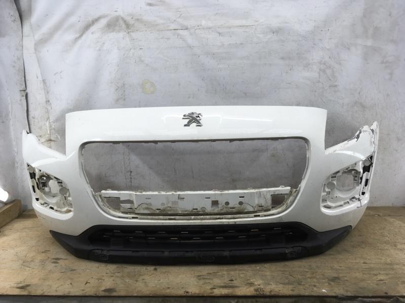 Бампер Peugeot 3008 `1 2013 передний