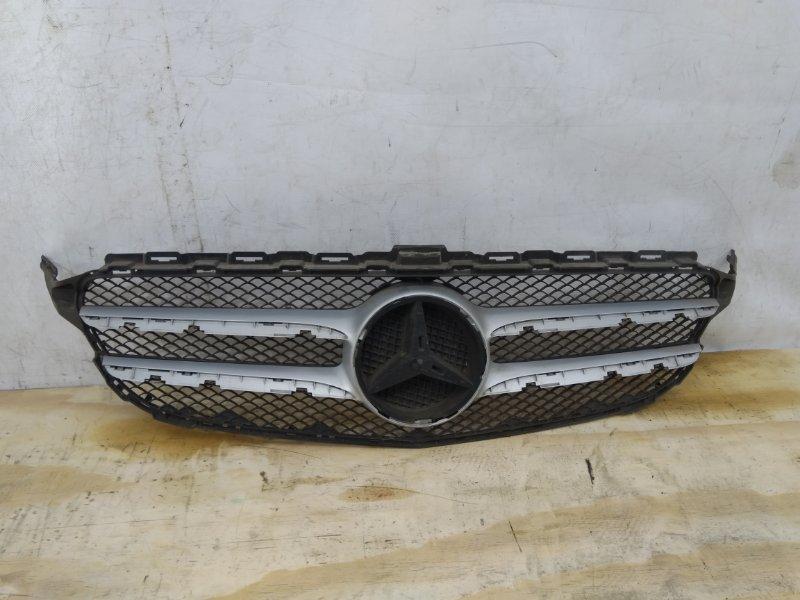 Решетка радиатора Mercedes C `W205 2014