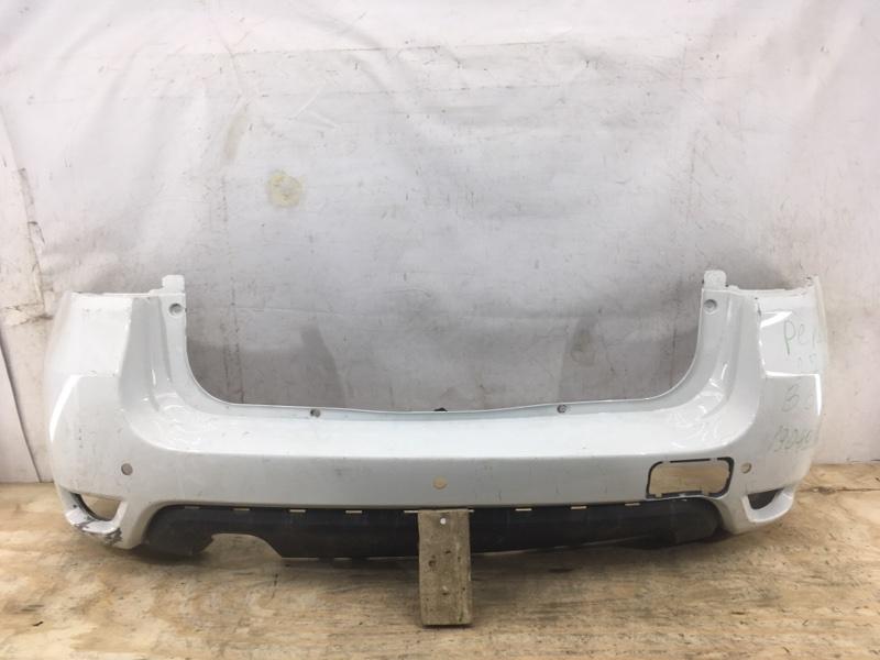 Бампер Nissan Terrano `3 D10 2014 задний