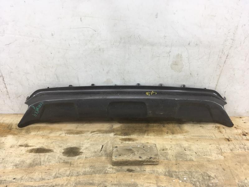 Накладка бампера Lexus Rx `4 2015 задняя