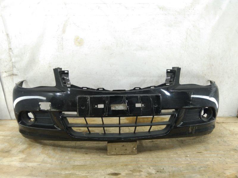 Бампер Nissan Almera `3 G15 2012 передний